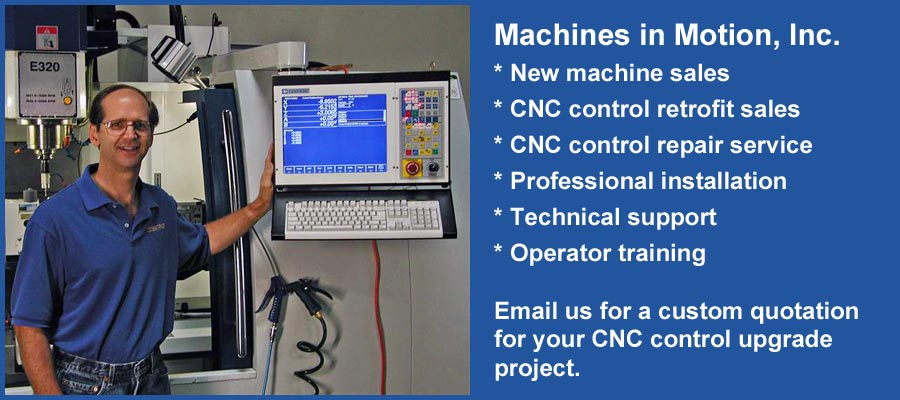 CNC Control Retrofits